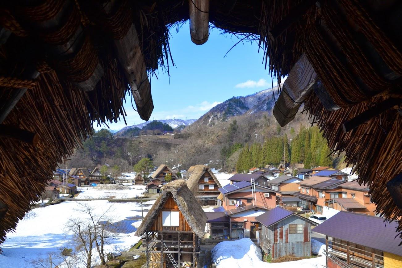 Shirakawa go Alpes Japoneses
