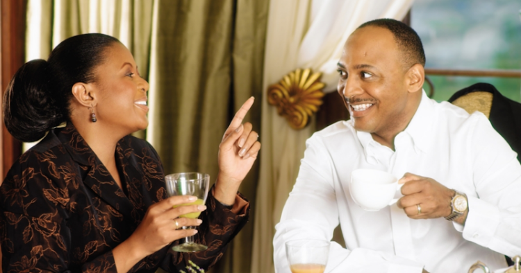 SA power couple Basetsana and Romeo Kumalo have put sex tape rumours on blast.