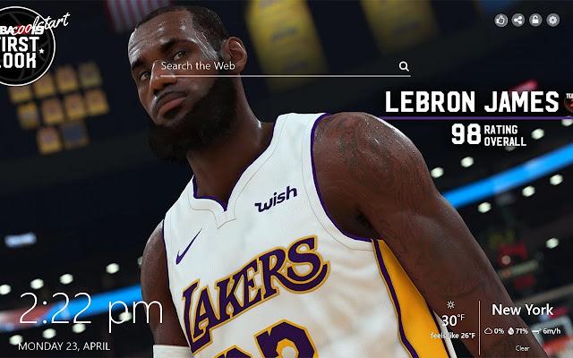 NBA 2k19 HD Wallpapers Games New Tab Theme