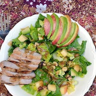 Applewood Smoked Pork, Apple & Walnut Salad.