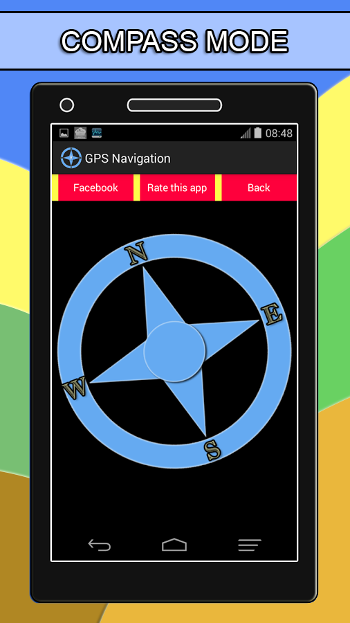GPS Navigation + Compass - Android Apps on Google Play