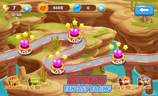 ZetaKids - Fantasy Racing Adventure | Robot Fun 3D for PC-Windows 7,8,10 and Mac apk screenshot 3