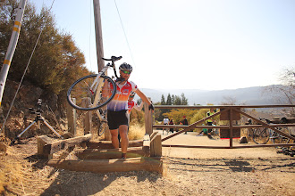 Photo: props on the double cyclocross carry
