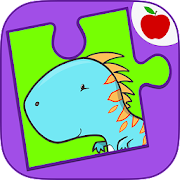 Build-a-Dino - Dinosaurs Jigsaws Puzzle Game