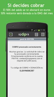 Spoora: miniatura de captura de pantalla