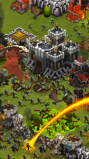 Throne Rush filehippodl screenshot 3