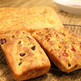 Homemade Focaccia Italian Flat Bread