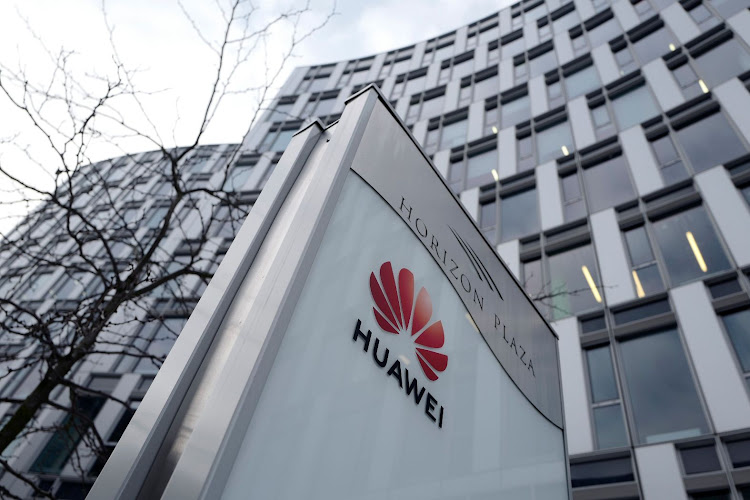 The logo of Huawei is seen in front of the local offices of Huawei in Warsaw, Poland, on January 11 2019. Picture: REUTERS/KACPER PEMPEL