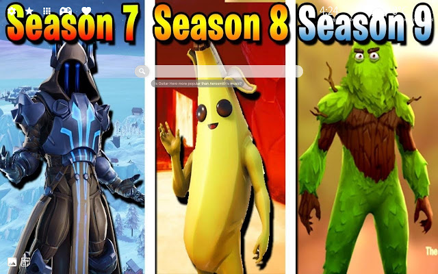 Fortnite Season 9 Skins HD Wallpaper Chrome