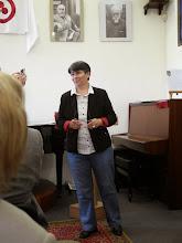 Photo: Е.Г.Петренко, директор Одесского Дома – Музея имени Н.К.Рериха