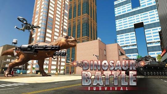 Dinosaur Battle Survival MOD (Unlimited Money) 1