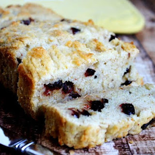 Gluten-Free Vegan Cranberry Orange Bread (Vegan, Gluten-Free, Dairy-Free, Egg-Free, Nut-Free, No Refined Sugar)