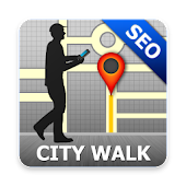 Seoul Map And Walks Android APK Download Free By GPSmyCity.com, Inc.