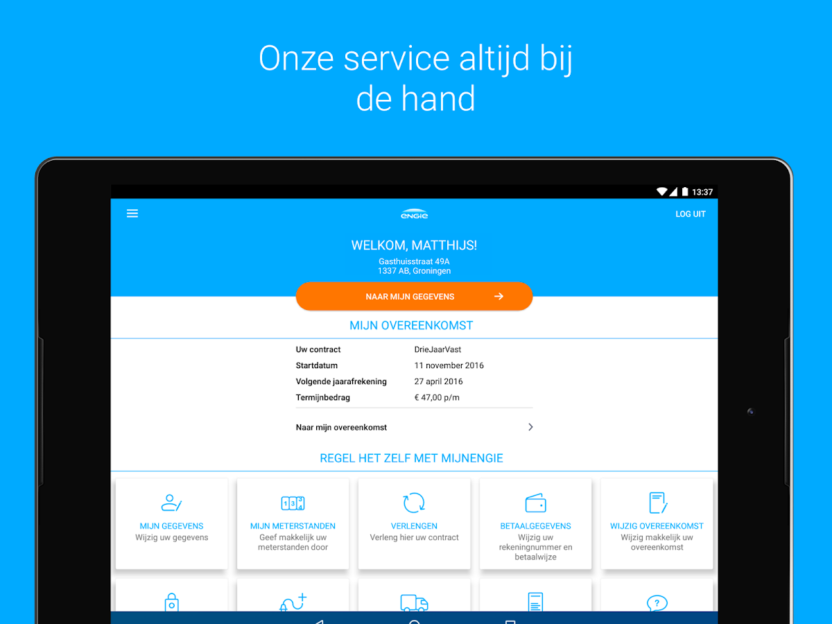 ENGIE Energie NL- screenshot