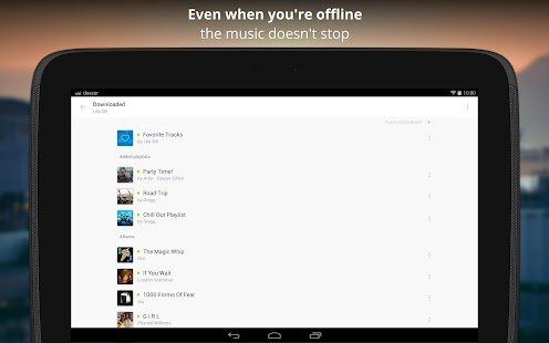 Deezer Music Screenshot 10