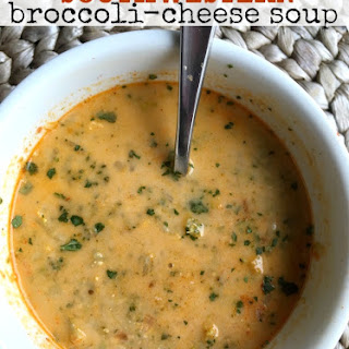 Southwestern Broccoli Cheese Soup.