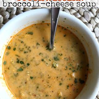 Southwestern Broccoli Cheese Soup.