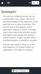 Adaptive Business Math 6 screenshot