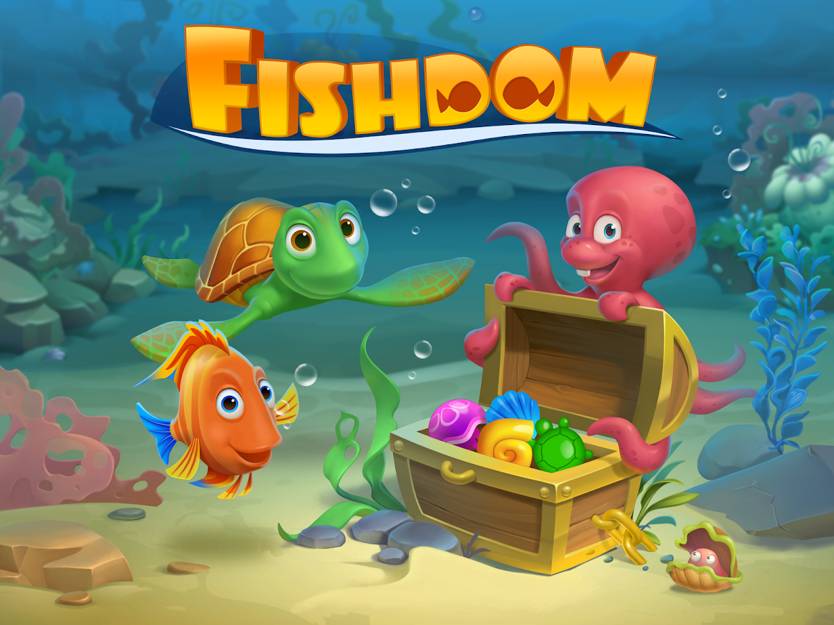 Screenshots of Fishdom for iPhone