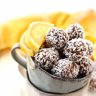 Lemon Coconut Chia Energy Balls Recipe