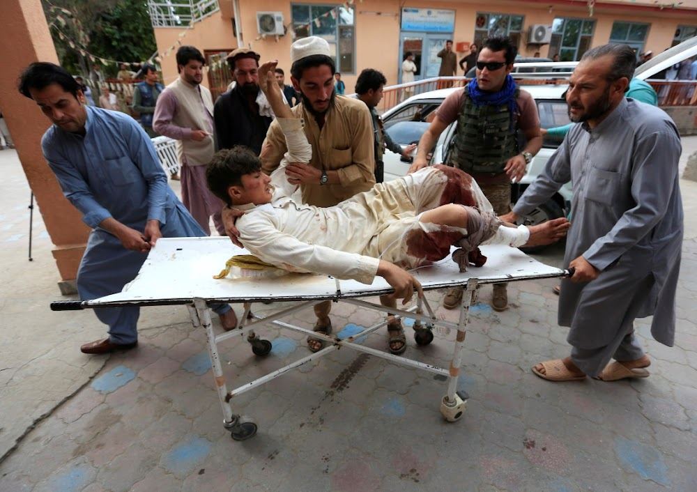 More than 60 people killed in Afghan mosque blast