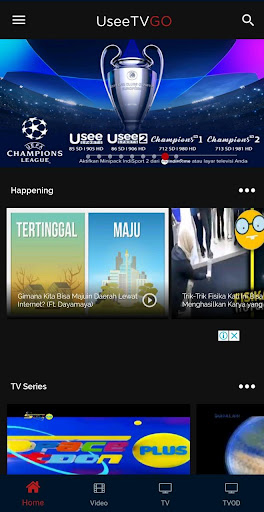 UseeTV GO: Nonton Live TV & Video Indonesia 5.9.0 screenshots n 1