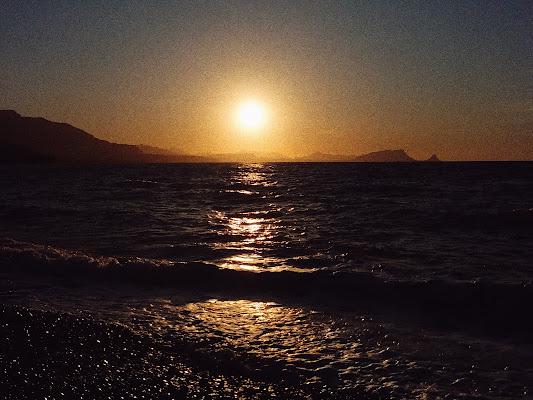 Orizzonte al tramonto di Elena13