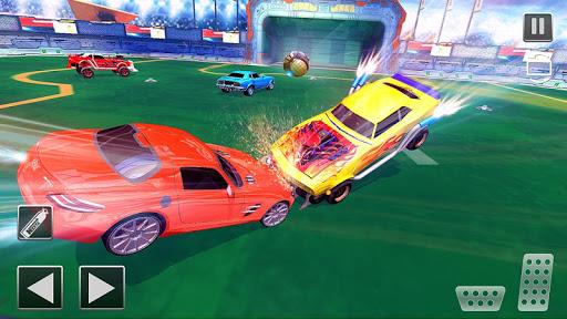 Rocket Car Football Soccer League Champion screenshot 4