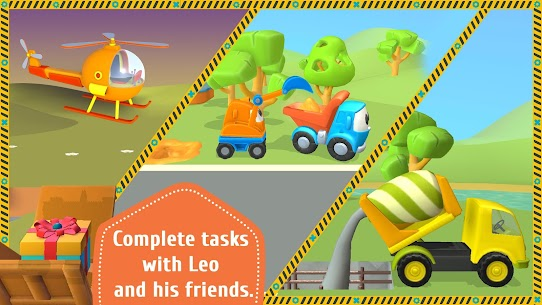 Leo the Truck and cars Mod Apk – Educational toys for kids 3