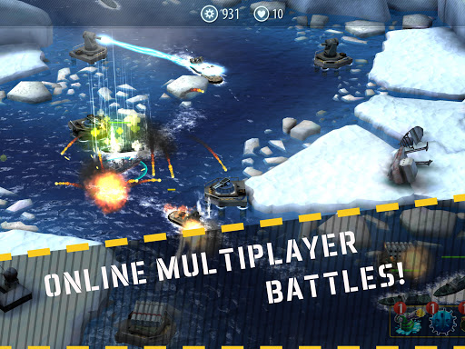 Naval Rush: Sea Defense  screenshots 9