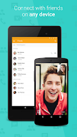 Screenshot of ooVoo Video Call, Text & Voice