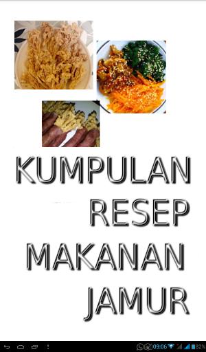 Kumpulan Resep Makanan Jamur