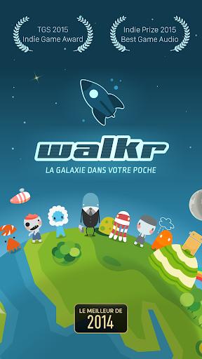 Walkr: Fitness Space Adventure  captures d'u00e9cran 7
