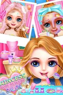 Princess Prom Makeup Salon - náhled