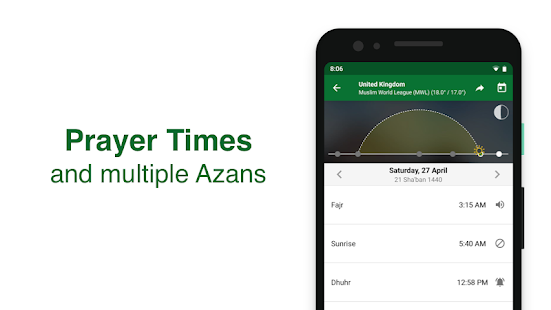 Muslim Pro - Prayer Times, Azan, Quran & Qibla Screenshot
