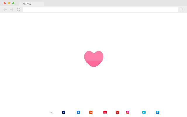 I love you New Tabs HD Popular Love Theme