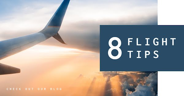 Eight Flight Tips - Facebook Event Cover Template