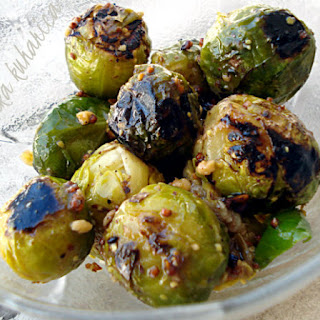 Crunchy Brussels sprouts