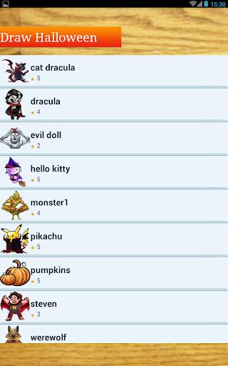 玩免費遊戲APP|下載Drawings Halloween Anime app不用錢|硬是要APP