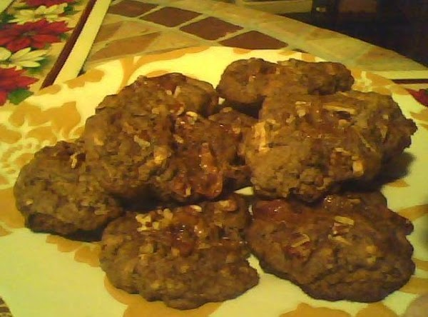Fudge Pecan Caramel Cookies Recipe