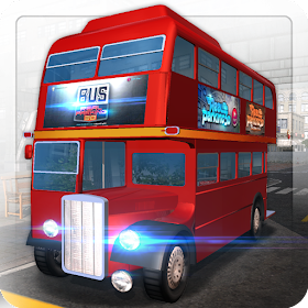 Bus Real Parking 3D