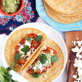 Slow-Cooker Shredded Chicken Tacos