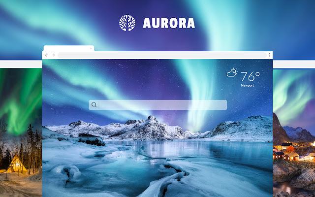 Aurora HD Wallpapers New Tab