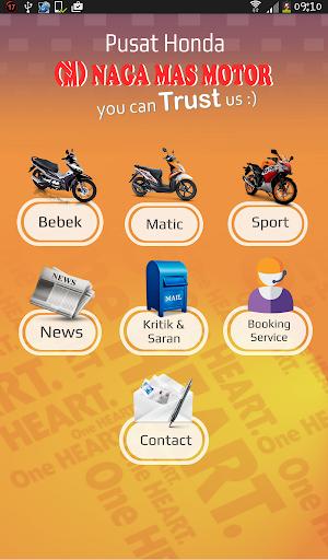 Honda Naga Mas Catalog