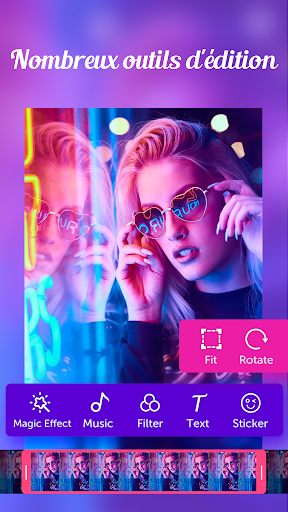 Video.me – éditeur vidéo, monteur vidéo, effets screenshot 2