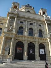 Photo: NHM, Naturhistorisches museum Wien. Le Musée d'Histoires Naturelles de Vienne. Exposition Gabonionta.