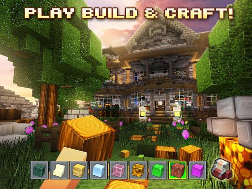 Pixel miner world design: block craft & building for PC