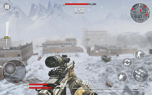 Rules of Modern World War Winter FPS Shooting Game 1.2.0 Screenshots 8