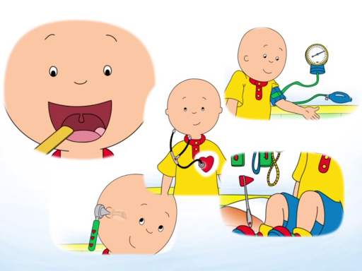 Caillou Check Up - Doctor - screenshot