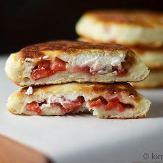 Strawberry Hotteok (Fried Stuffed Pancake) #SundaySupper #FLStrawberry.